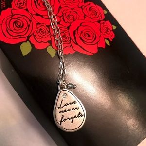 Brighton Jewelry - Brighton Love Never Forgets necklace NEW with tags
